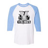 Picture of Vikings Short Baseball 3/4 Sleeve